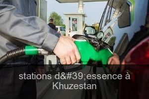 Stations d'essence à Khuzestan